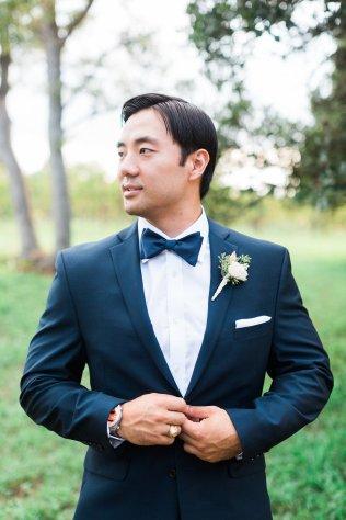 Classic tuxedo for groom.