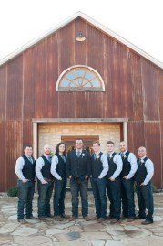 Vests for groomsmen.