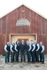 Vests for groomsmen.