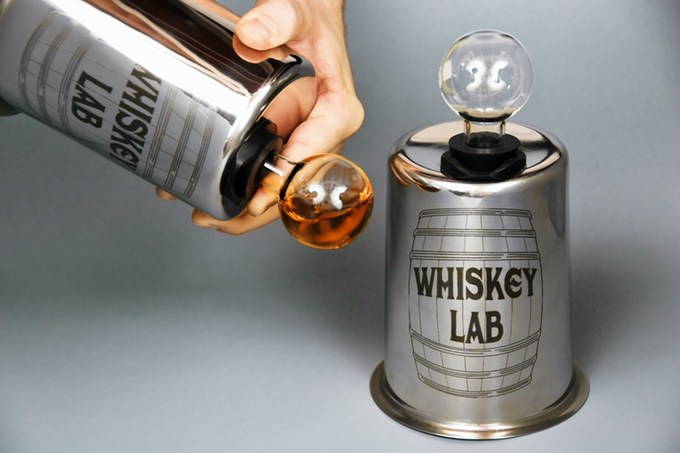 A New Way To Age Whiskey At Home?