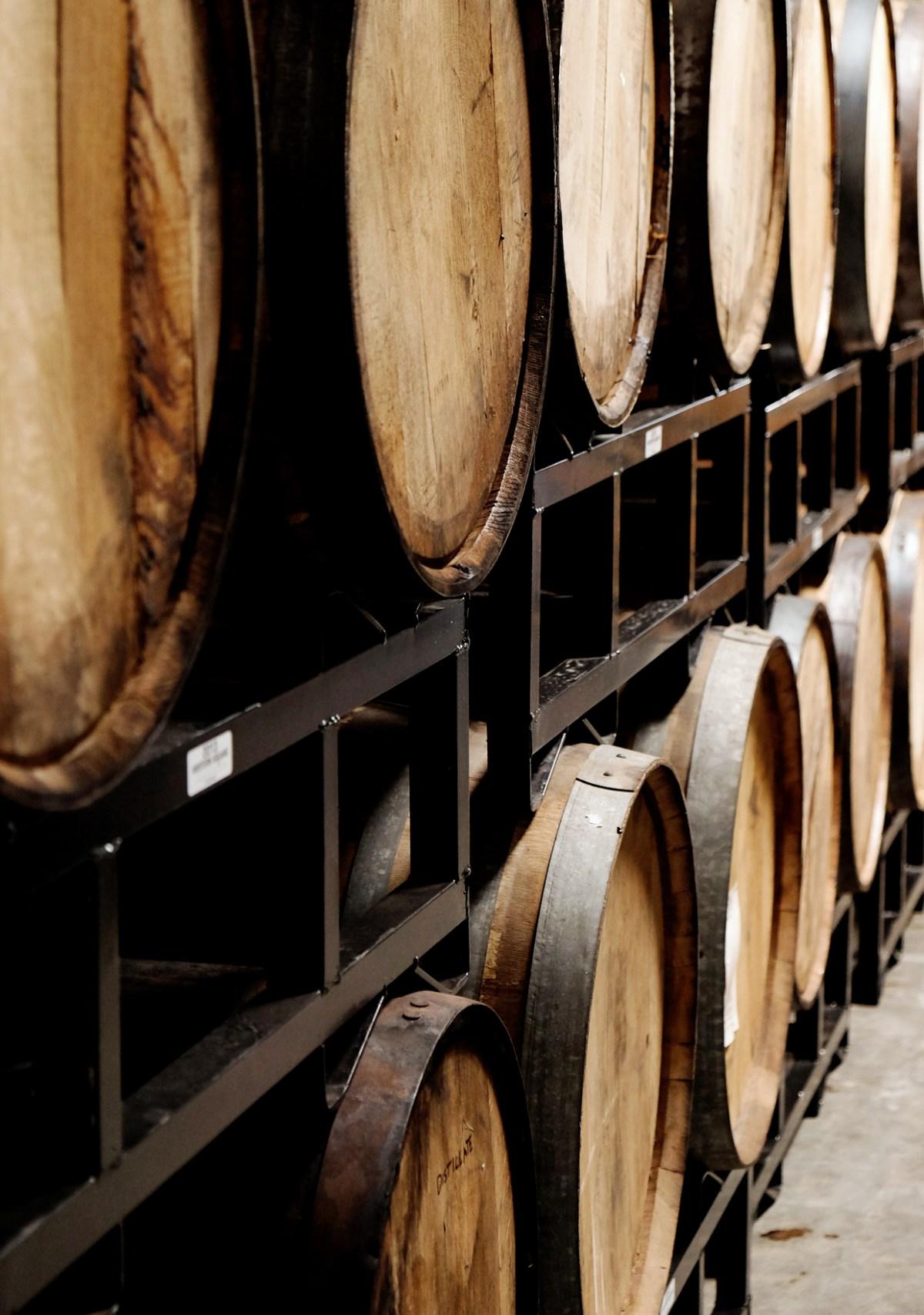 Yellow Rose Distilling - barrel detail
