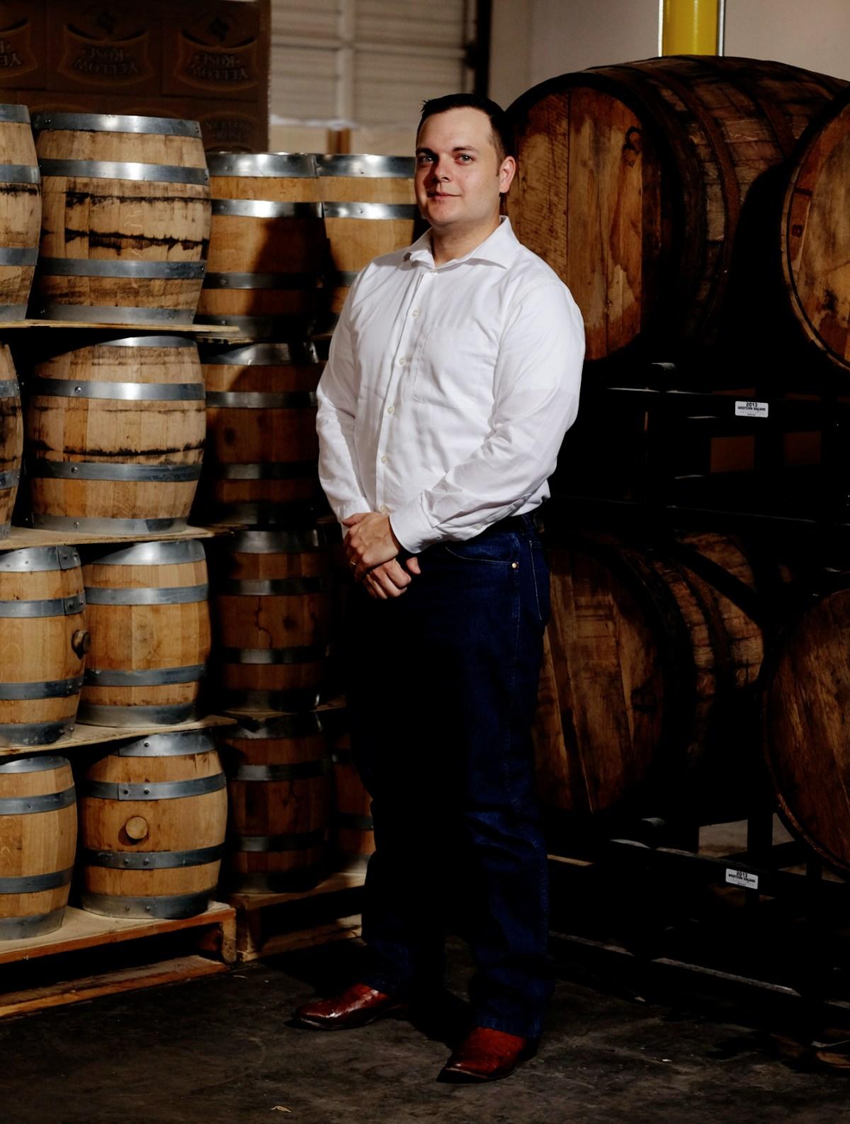 Yellow Rose Distilling - brand mixologist Houston Farris