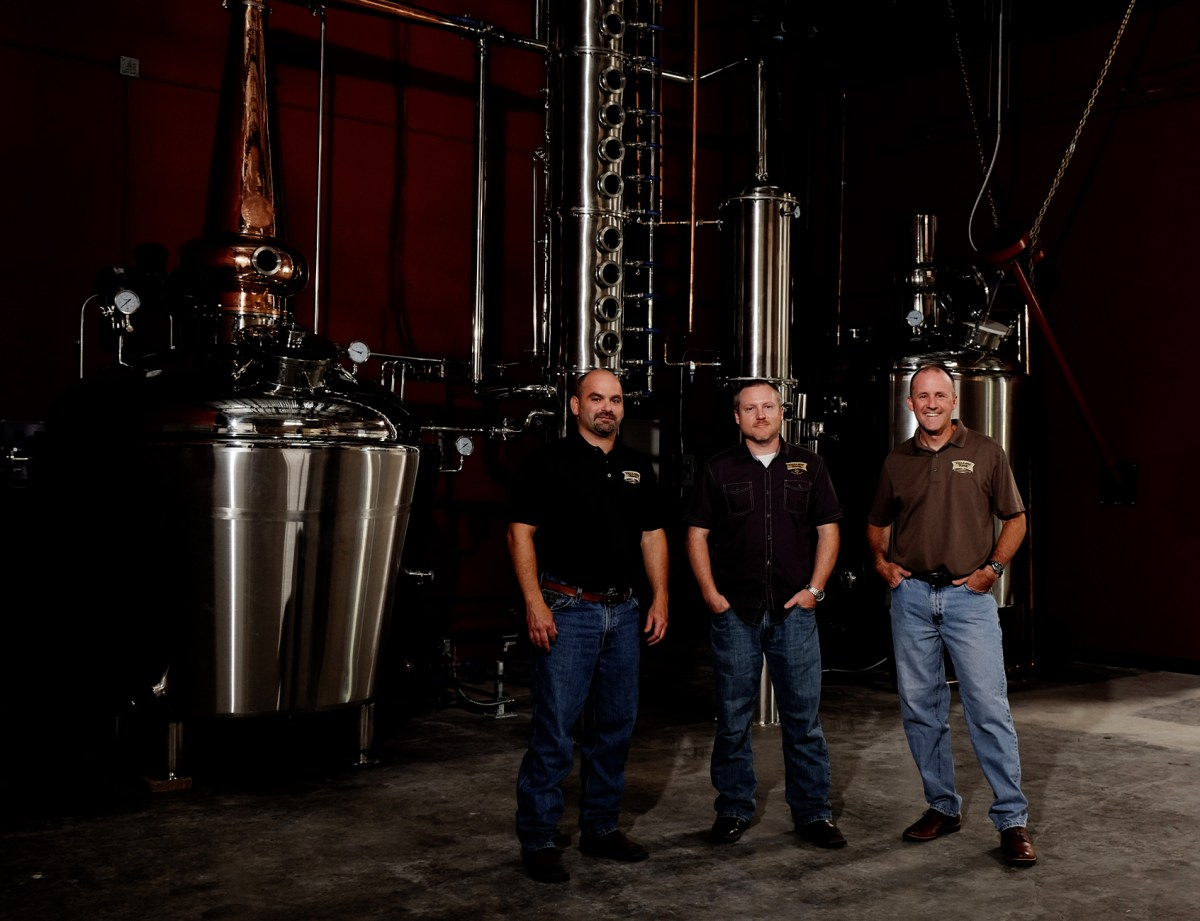 Yellow Rose Distilling - founders