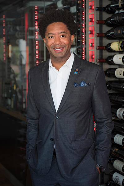 Sommelier and General Manager Chris Marshburn