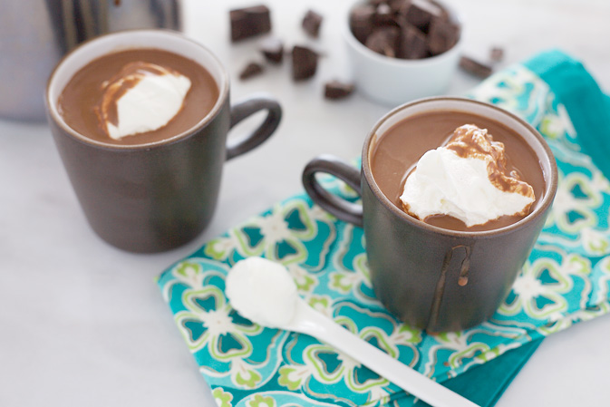 Irish Hot Chocolate | BourbonandHoney.com