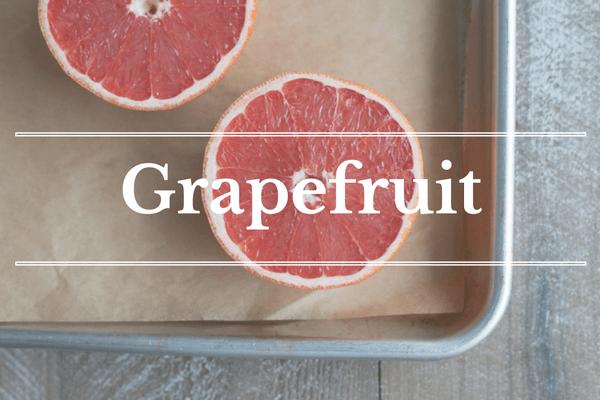 What's in Season: December - Grapefruit | BourbonandHoney.com