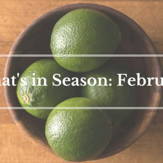 What's in Season: February | BourbonandHoney.com