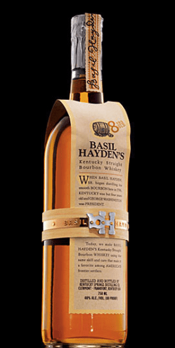 Basil Hayden's Bourbon Recipe from the Basil Hayden's Cocktail of the Month Club