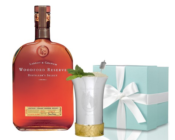 Thousand $1000 Dollar Mint Julep Kentucky Derby Woodford Reserve and Tiffany's