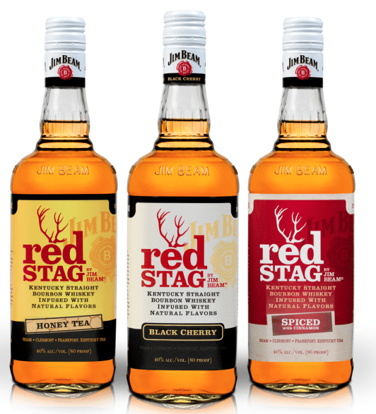 Red Stag Honey Tea Red Stag Spiced with Cinnamon