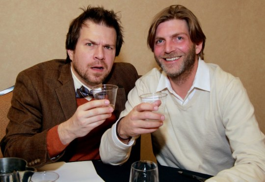 Who judges cocktail and spirits competitions? BourbonBlog.com's Tom Fischer and Proof Media Mix's Mike Manning