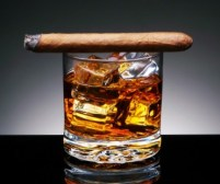 Bourbon and Cigar