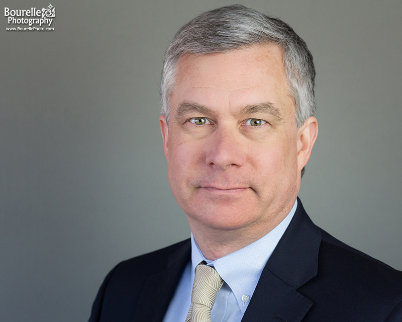 Professional, corporate headshot of a businessman from chicago
