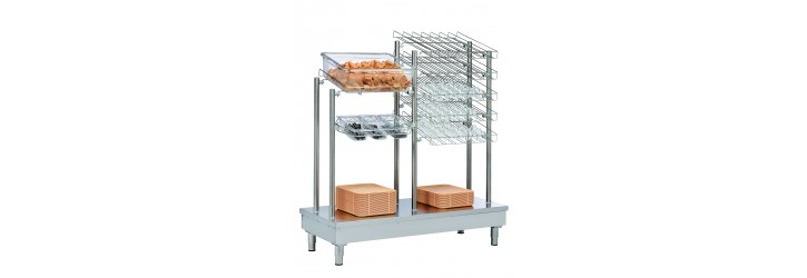 dispensers for trays cutlery bread and