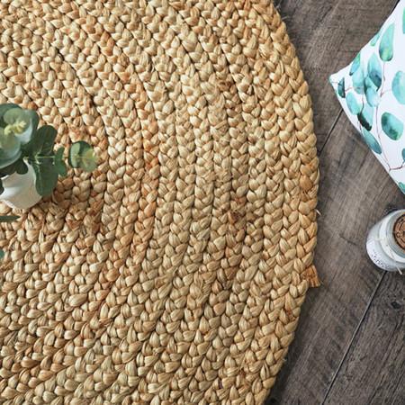 tapis naturel rond boho en jute bourges