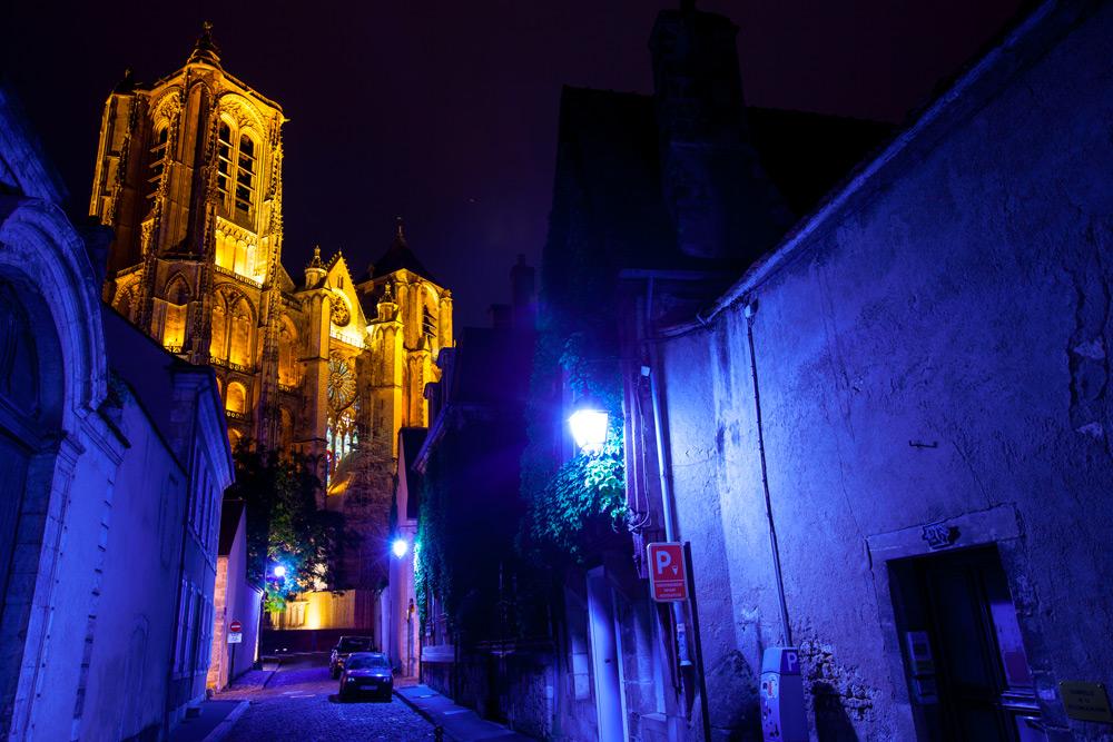les nuits lumiere bourges berry tourisme