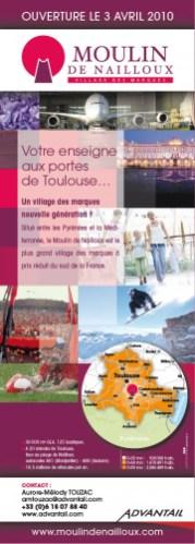 Moulin de Nailloux | Annonce presse - 1/2 page
