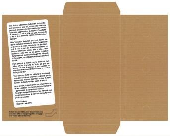 Boîtage - Verso