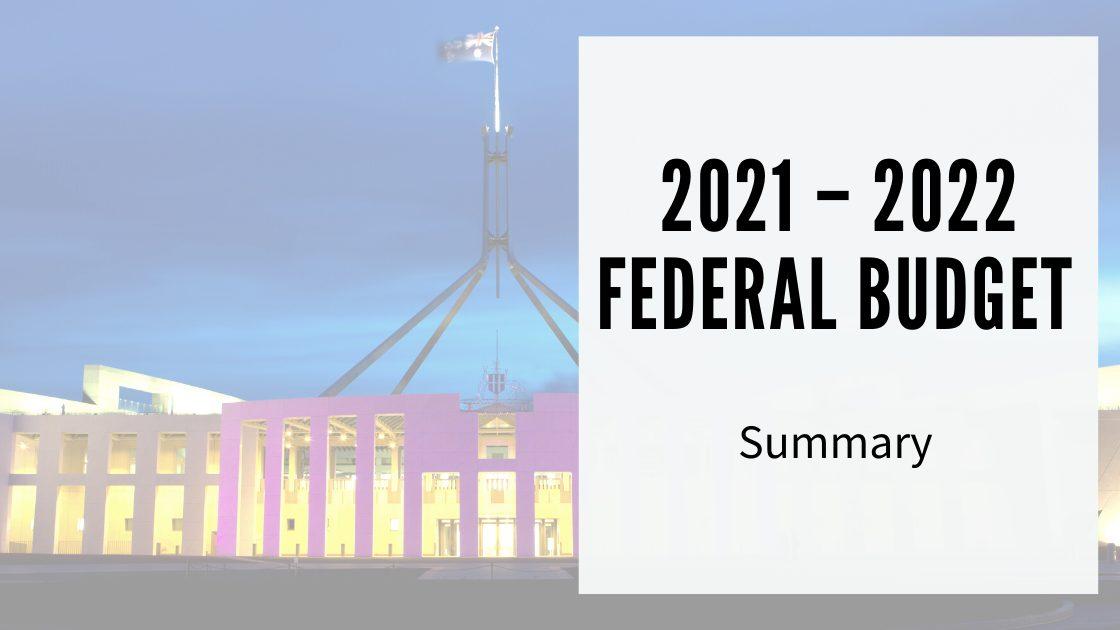 BW 2021 - 2022 Federal Budget Final