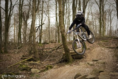 Sam Marzetti at UK Bike Park
