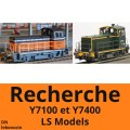 Recherche locotracteur ls models Y7100 Y7400 • Y7117 ref 10012 • Y7418 ref 10010