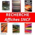 Recherche affiches SNCF