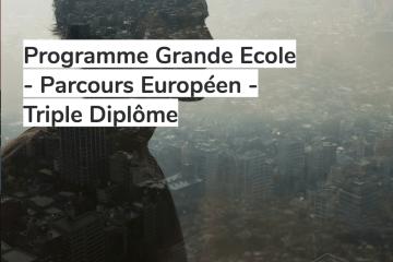 Formation Master spécialisé avec stages en entreprise - MSc in Management – Triple Diplôme Européen