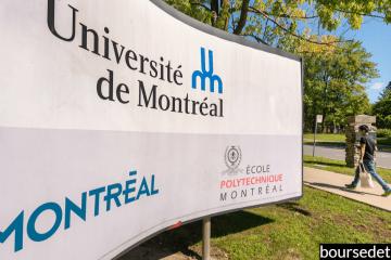 bourses de l'université de Montréal