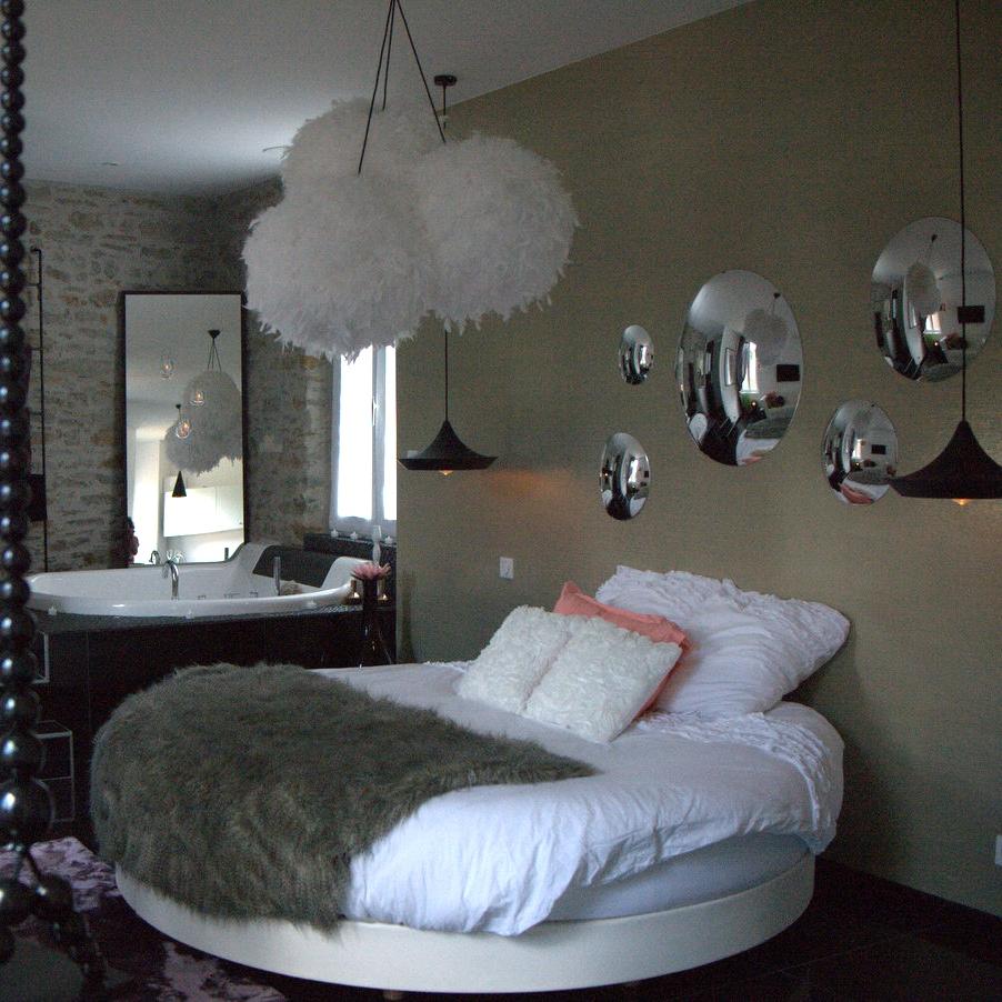 Decoration Chambre Avec Lit Rond