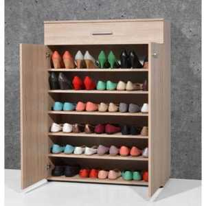 porte chaussure ou armoire basse 2 portes battantes