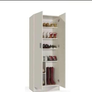 armoire 2 portes en blanc tunisie