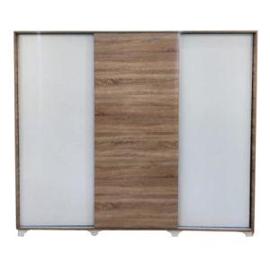 vue de face armoire dressing à porte coulissantes
