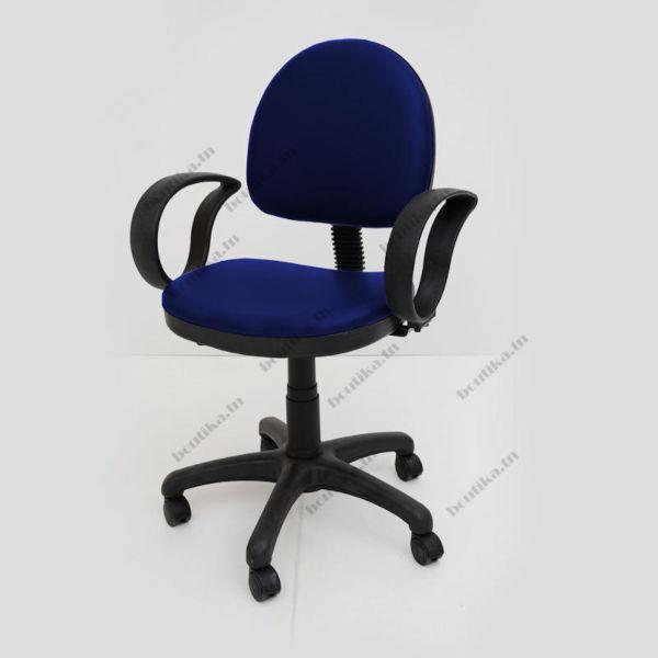 chaise de bureau bleu modèle opera Tunisie