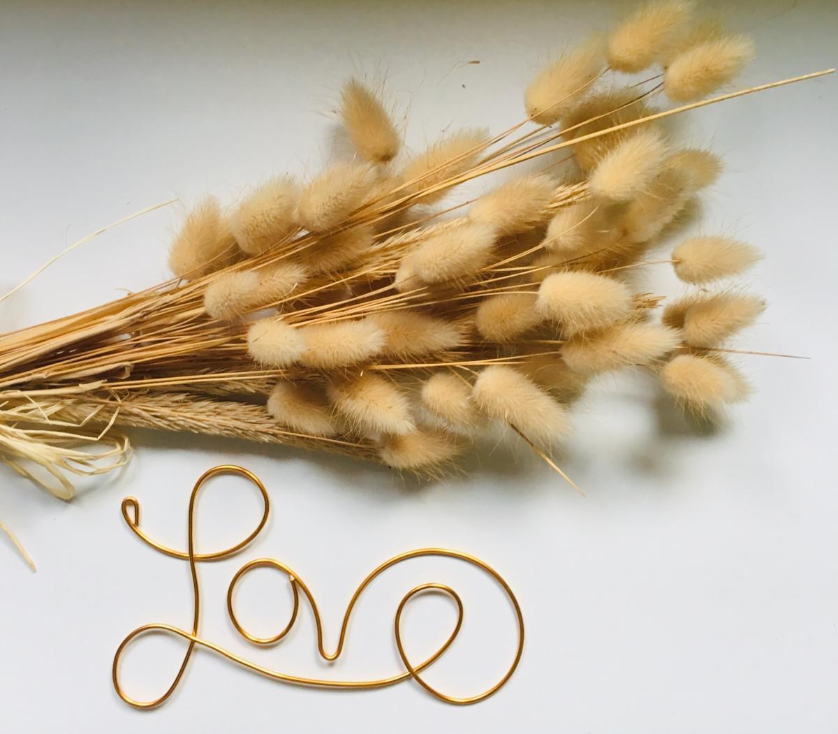 love dore fil alu deco mariage