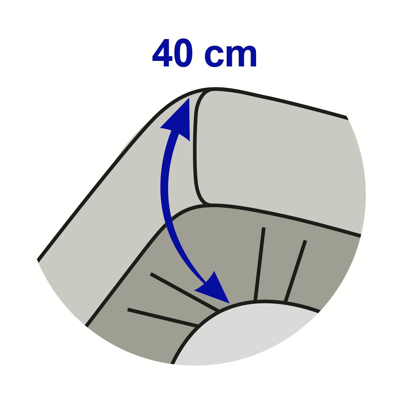 Drap Housse 160x200 Percale Grand Bonnet 40 Cm