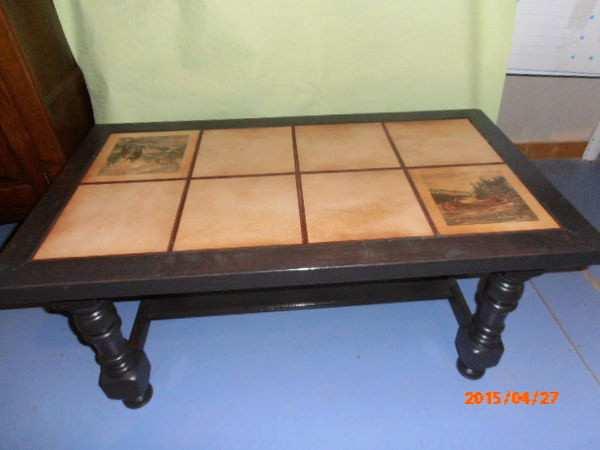 relooker une table basse en bois et
