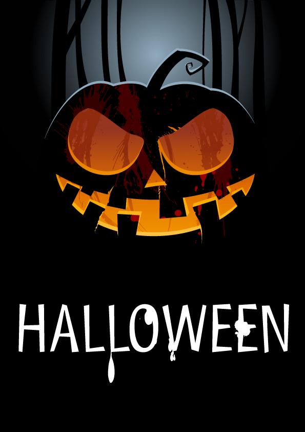 invitation pour soiree d halloween