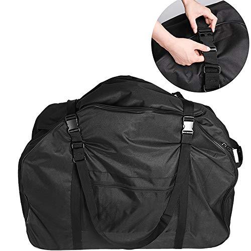 Asdflina Équitation Voyage Camping Randonnée Sac à Dos Sac Pliable Sacoche Voyage vélo Pliant Super Grande capacité Noir (Couleur : Noir, Taille : 230L)