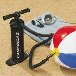 Campingaz Pompe à main double action Dual Action QuickPump avec embouts Universels