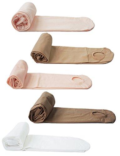 Collants de danse Dance You 2101 pour enfants et femmes – Disponibles en 3 couleurs et 4 tailles. S Rosa