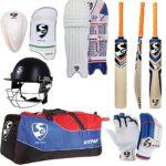 G&S SG de Cricket kit Complet Accessoires Taille complète (idéal Senior Joueurs) Express d'expédition