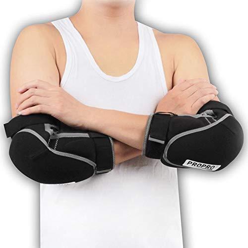 HBRT Coudières Sportives pour Adultes, Respirantes et Chaudes, testées par la Norme EN1621-1: 2012 pour Le Ski, Le Roller, Le Patin à roulettes, Le vélo,XL