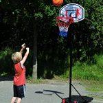 Hudora All Stars / 71655 Panier de basketball Noir/bleu/rouge