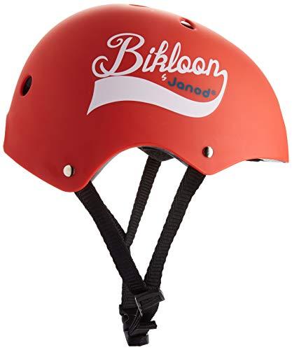 Janod – J03270 – Bikloon – Casque Rouge Pour Draisienne