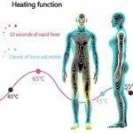 MBYGXX Augmentation Mammaire Physique- Appareil de Massage pour grossissement des Seins,sans Fil Mesdames électrique Breast Massager Anti-affaissement du Sein -Accélérer la Circulation Sanguine