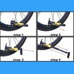 YHWLKK Gonfleur Rapide et Facile – Pompe à vélo des pneus for vélo de Route et de Montagne – isolé Manches -Inflator Stockage Canister Sécurité Bleu