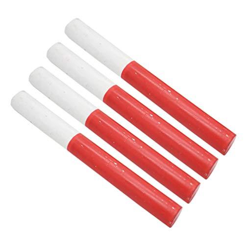 BESPORTBLE 4pcs bâtons de Relais en Bois équipements d'athlétisme et de Relais bâtons de Relais bâtons de compétition
