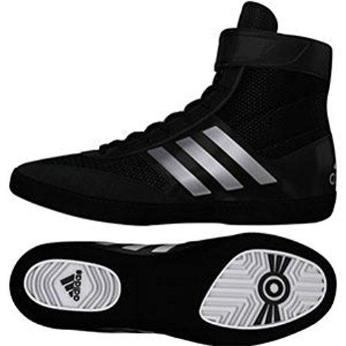 adidas Men's Combat Speed.5, Silver Metallic/Black, 12.5 M US