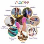 Slipstop , Chaussures d'extérieur spécial Plage/Piscine pour Femme – Multicolore – Noir, L 40-41