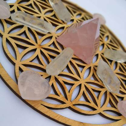matrice cristaux